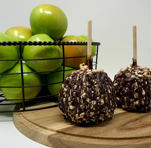 Almond Caramel Apple
